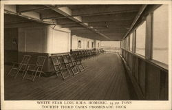 White Star Line RMS Homeric, 34,351 tons