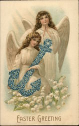 Easter Greeting - Angels