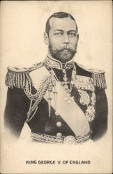 King George V. of England