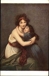 Portrait of Mme. Vigée Le Brun and her Daughter