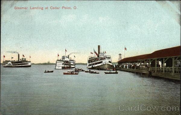 Steamer Landing Cedar Point Ohio