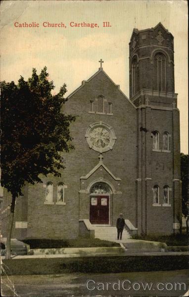 Catholic Church Carthage Illinois
