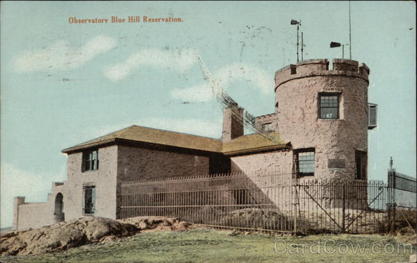 Observatory Blue Hill Reservation Massachusetts
