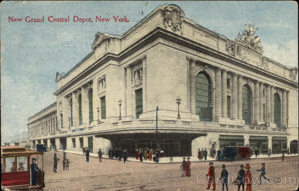 New Grand Central Depot New York City