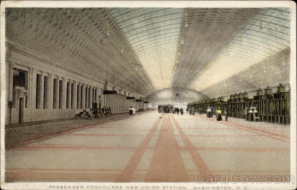 Passenger Concourse New Union Station Washington District of Columbia