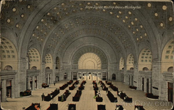 Union Station Waiting Room Washington District of Columbia