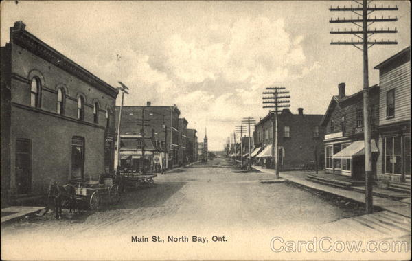 Main Street North Bay Canada Ontario