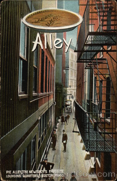 Pie Alley Boston Massachusetts
