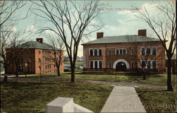 Page and Minor Halls, Tufts College Medford Massachusetts