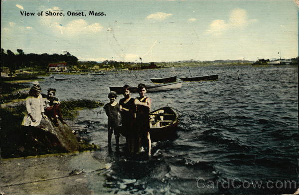 View of Shore Onset Massachusetts
