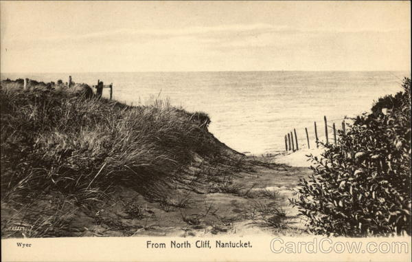 View of North Cliff Nantucket Massachusetts
