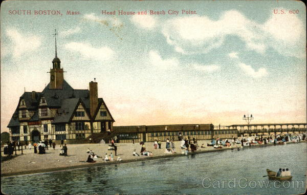 Head House and Beach, City Point South Boston Massachusetts
