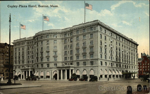 Copley-Plaza Hotel Boston Massachusetts