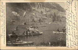 A Fishing Party at Lake San Christobal