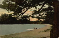 Corner in Sebego Lake, Not far from Landing Postcard