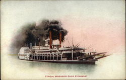Typical Mississippi River Steamboat