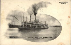Landing of the Queen City at Ironton