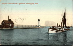 Harbor Entrance and Lighthouse