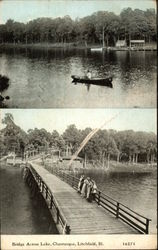 Bridge across Lake, Chautauqua