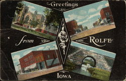Greetings from Rolfe Iowa