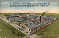 Birs'-eye View of Gehl Bros. Mfg. Co.'s Plant