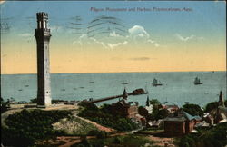 Pilgrim Monument and Harbor