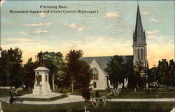 Monument Square and Christ Church (Episcopal)