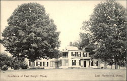 Residence of Paul Dwight Moody