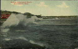 Surf at Swampscott Beach