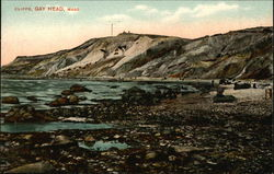 View of Cliffs Postcard