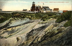 Gay Head Light, Martha's Vineyard Postcard