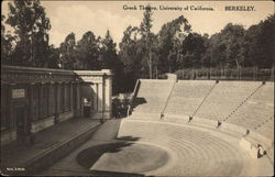 Greek Theatre at University of California