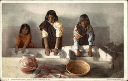 Grinding Corn, Pueble of Laguna, N.M