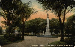 Park and Soldiers Monument