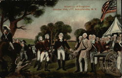 Surrender of Burgoyne, October 15th, 1777