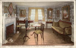 New England Parlor (1800), Museum of the Essex Institute