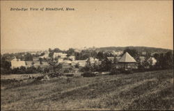 Bird's-Eye View of Blandford, Mass