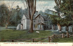 "Orchard or Alcott House, ""Home of Louisa Alcott and her Little Women"""