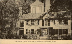 """Wayside,"" The Home of Hawthorne"
