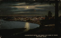 Connecticut River and Birds Eye View by Night