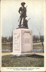 The Minute Man's Monument, By Daniel Chester French