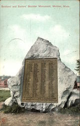 Soldiers' and Sailors' Boulder Monument