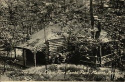 The Old Log Cabin, Pine Banks Park