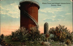 Water Tower and Abigail Adams Cairn
