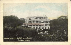 Judge Moore's Estate from Beach