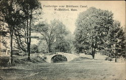 Footbridge over Middlesex Canal