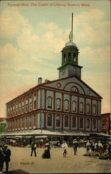 Faneuil Hall, The Cradle of Liberty