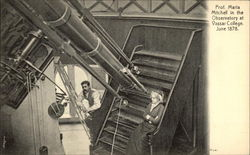 Prof. Maria Mitchell in the Observatory at Vassar College, June 1878