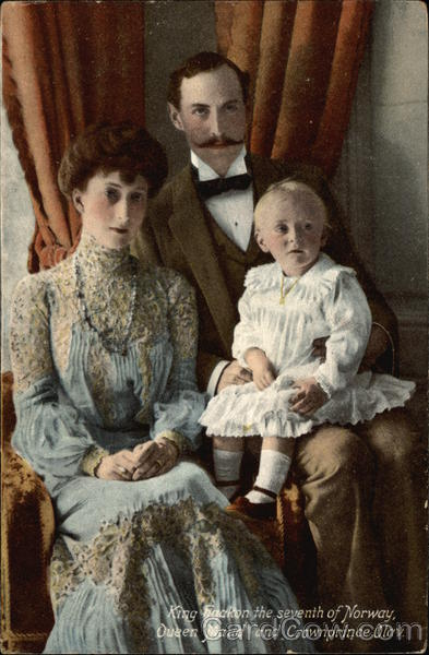 King Haakon the Seventh of Norway Royalty