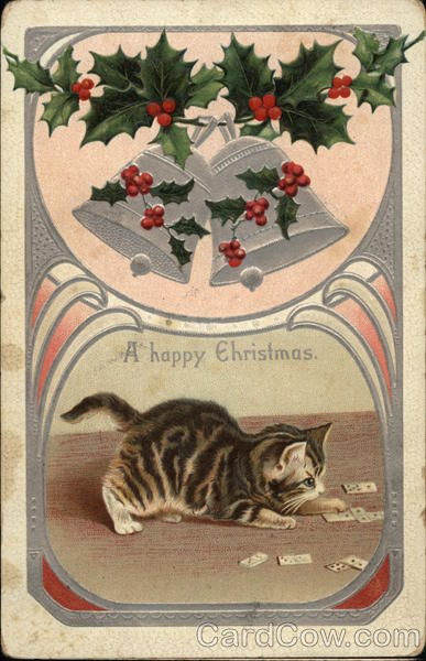 A Happy Christmas With Cats